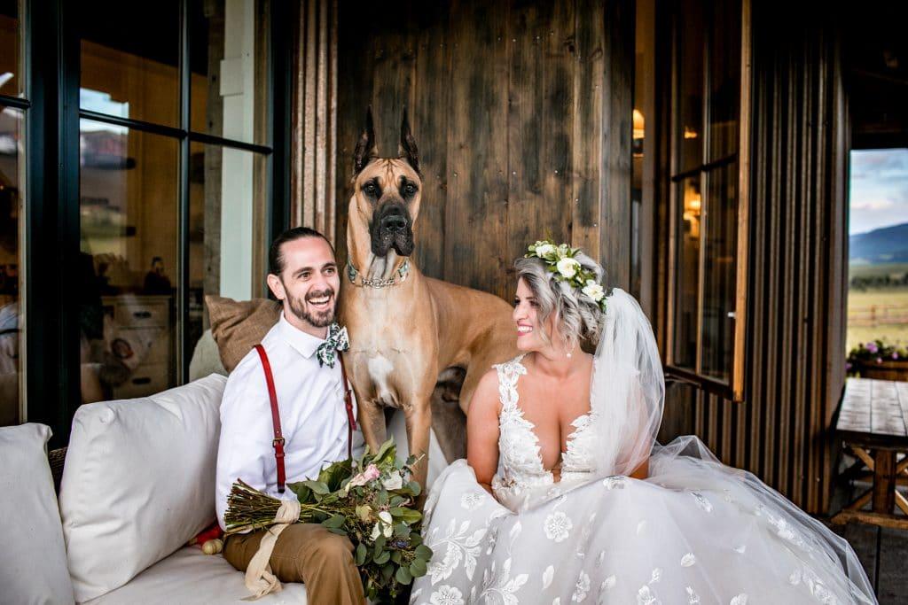 Colorado Ranch Wedding Venue